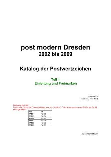 FM - Freimarken - Pin-mail-online.de