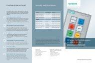 Effiziente Vor-Ort-Bedienung ? so einfach wie nie ... - Siemens