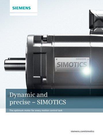 Dynamic and precise ? SIMOTICS - Siemens