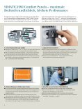SIMATIC HMI Comfort Panels - Siemens - Seite 4