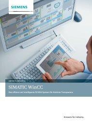 SIMATIC WinCC - Siemens
