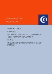 C559:2012 Part 3 Requirements for Deployment Class Systems