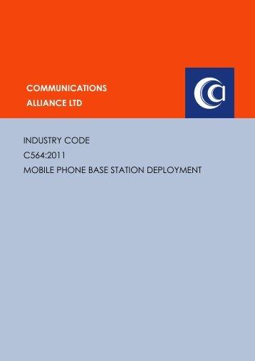 C564:2011 Mobile Phone Base Station Deployment
