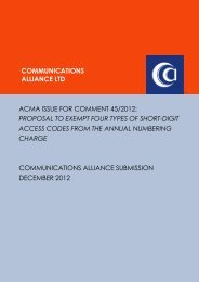 Dec 2012 Short Digit Access Codes and Annual Numbering Charge