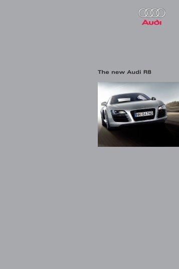 The new Audi R8 - Mark Motors of Ottawa