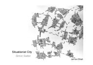 Situationist City