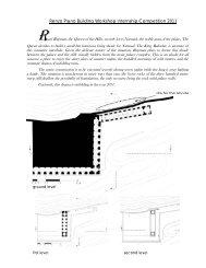 Renzo Piano Building Workshop Internship Competition 2011