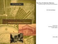 The City of Collective Memory