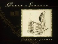 Great Streets- Allan Jacobs