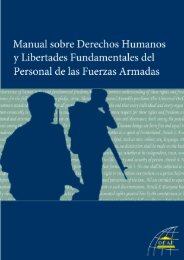 Handbook on Human Rights and Fundamental Freedoms of ... - DCAF