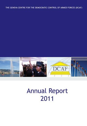 Annual Report 2011 - DCAF