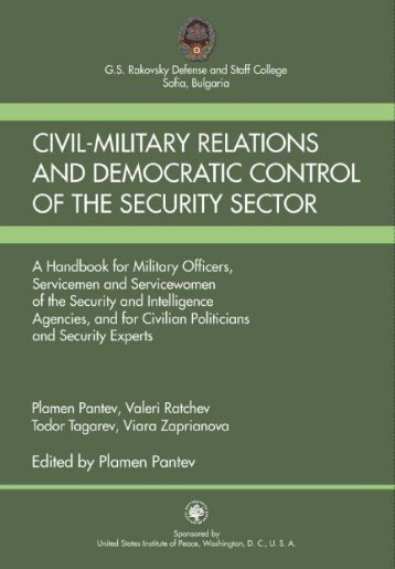Civil-Military Relations and Democratic Control of the Security Sector