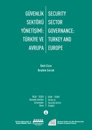 Security Sector Governance: Turkey and Europe - DCAF