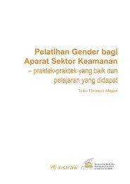 Pelatihan Gender bagi Aparat Sektor Keamanan - DCAF