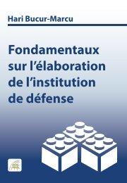 Fondamentaux sur l'élaboration de l'institution de défense - DCAF