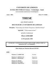 Etude de l'antenne fil-plaque coplanaire - Epublications - Université ...