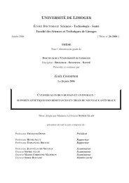 Cytomégalovirus humain et antiviraux - Epublications - Université de ...