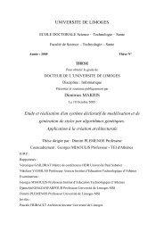 Etude et réalisation d'un système déclaratif de modélisation et de ...