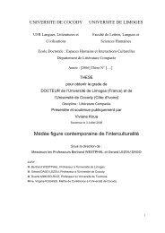 Médée : figure contemporaine de l'interculturalité - Epublications ...