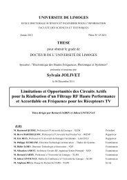 III. Gm-C Filtering - Epublications - Université de Limoges