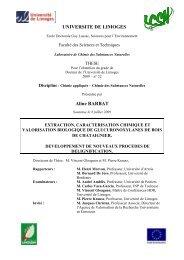Extraction, caractérisation chimique et valorisation biologique de ...
