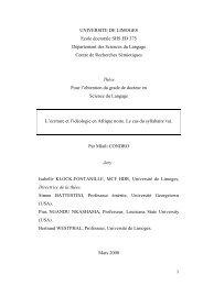 L'écriture et l'idéologie en Afrique noire - Epublications - Université ...