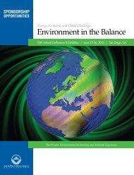 Environment in the Balance - Cal Poly San Luis Obispo