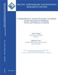 Chopra. A.K. and Goel, R.K. (2001). A Modal Pushover Analysis ...
