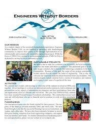 EWBCP Brochure - Cal Poly San Luis Obispo