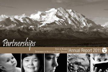 2011 Annual Report - Alaska Department of Health and Social ...