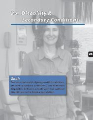 25. Disability & Secondary Conditions - Alaska Department of Health ...