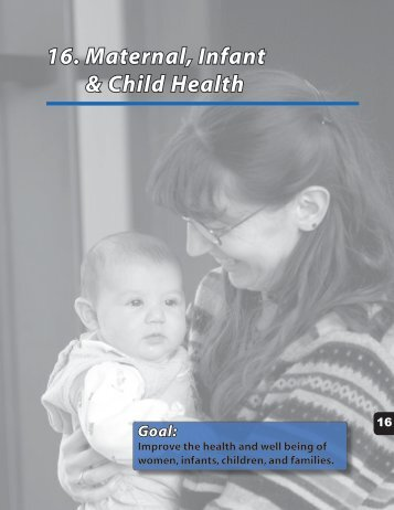 16. Maternal, Infant & Child Health - Alaska Department of Health ...