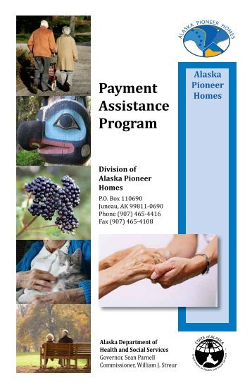 Payment Assistance Program - Alaska Department of Health and ...