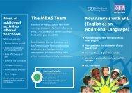 New EAL Arrivals information for grant LA schools - Staffordshire ...