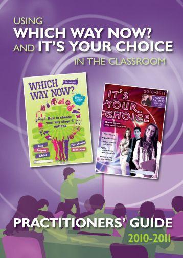 practitioners' guide - 14-19 Focus website