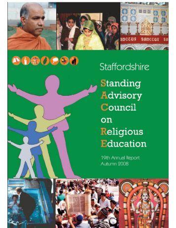 Staffordshire SACRE Annual Report 2007-2008