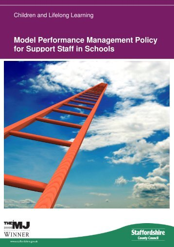 Model Performance Management Policy for Support Staff in Schools