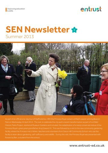 SEN Newsletter - Summer 2013 - Staffordshire Learning Net ...