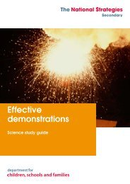 Effective demonstrations booklet (401 KB) - Staffordshire Learning Net