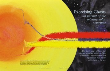 Excorcising Ghosts , In Pursuit of the Missing Solar Neutrinos