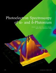 Photoelectron Spectroscopy of α- and δ-Plutonium
