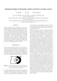 Optimal design of dynamic multi–axis force/torque sensor - SIRSLab