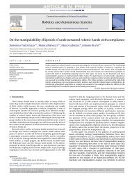 On the manipulability ellipsoids of underactuated robotic hands with ...