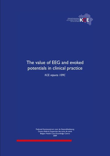 Download the full report (138 p.) - KCE