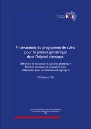 Télécharger le rapport (262 p.) - KCE