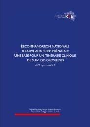 Télécharger le rapport (308 p.) - KCE