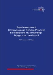 Download het supplement (156 p.) - KCE