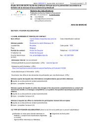 Télécharger le texte publié au Bulletin des Adjudications - KCE