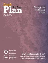 Draft Equity Analysis Report - State of California