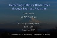 Hardening of Binary Black Holes through Spurious Radiation
